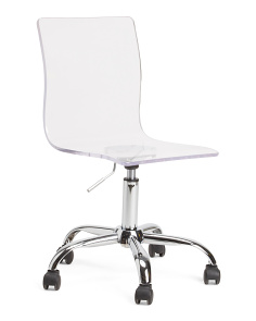 Clarity Acrylic Office Chair