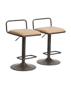 Set Of 2 Beta Bar Stools