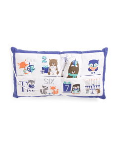 Kids 14x24 8 Days Of Hanukkah Pillow