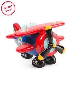 13in Bi-plane Coin Bank