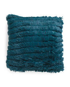 20x20 Effie Faux Fur Pillow