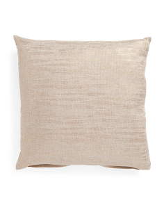 20x20 Jezabel Metallic Foil Pillow