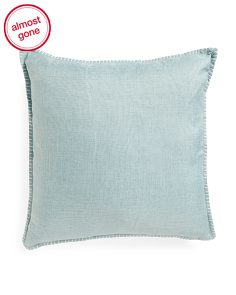 22x22 Reversible Whipstitch Pillow