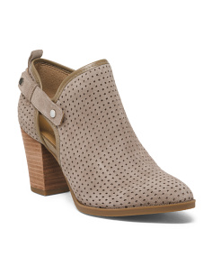 Open Side Western Booties