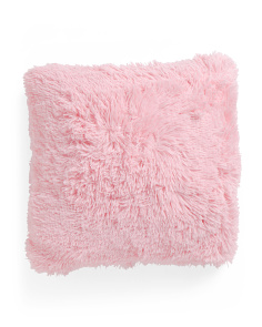 Kids 18x18 Faux Fur Pillow