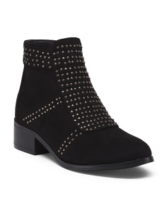 Studded Fashion Booties