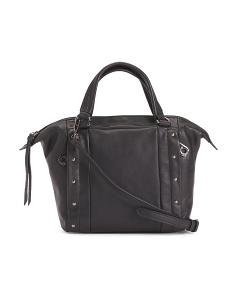 Adora Small Leather Satchel