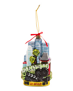 5.5in Los Angeles Cityscape Ornament