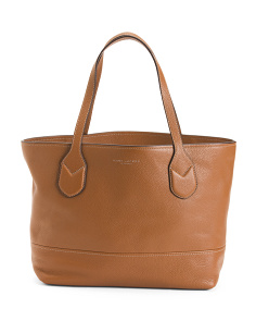 Classic Shopper Leather Tote