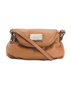 The Classic Leather Mini Messenger Bag