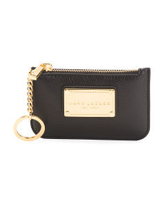 The Classic Leather Key Pouch