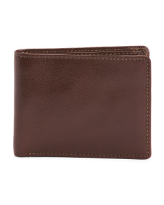 Full Grain Leather Bifold Wallet