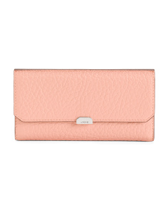 Borrego Amanda RFID Leather Clutch