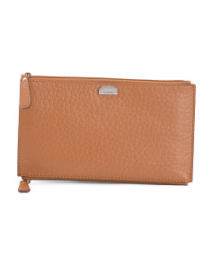 Borrego RFID Lani Leather Pouch