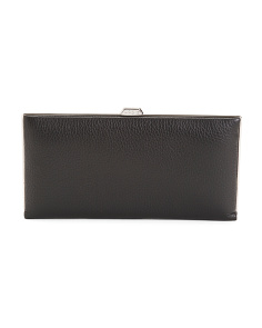 Valencia Quinn Leather Clutch Wallet