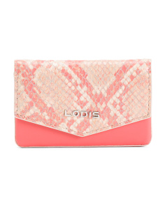 Kate Maya Leather Card Case