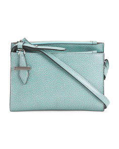 Stephanie RFID Trisha Leather Crossbody