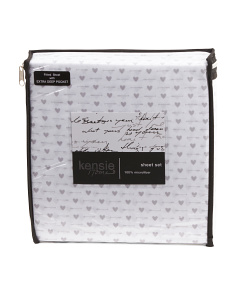 Arrow Hearts Sheet Set