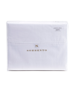 400tc Satin Supima Cotton Sheet Set