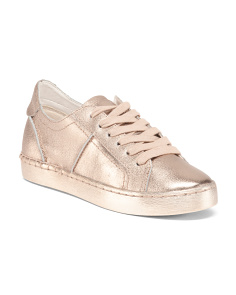 Fashion Leather Sneakers