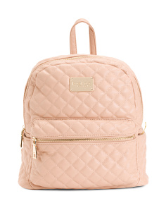 Maria Large Quilted Backpack