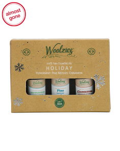 3pk Holiday Essential Oils Gift Set