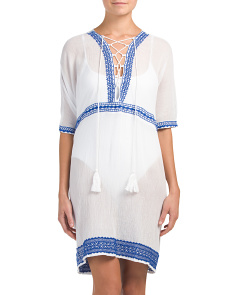 Isabell Short Cover Up Caftan