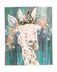 Canvas 20x24 Liesl Giraffe Wall Art