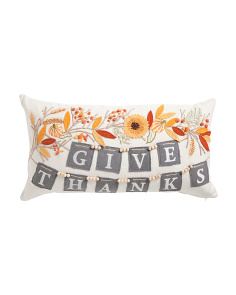 Made In India 14x26 Garland Give Thanks