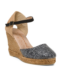 Made In Spain Closed Toe Wedges