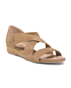 Made In Spain Suede Xband Sandals