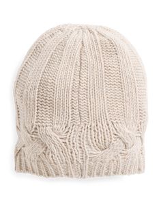 Made In Italy Cashmere Beanie