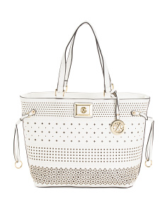 Renee Perforated Tote