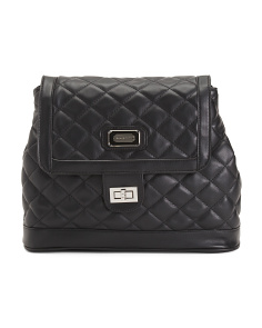 Tess Quilted Backpack