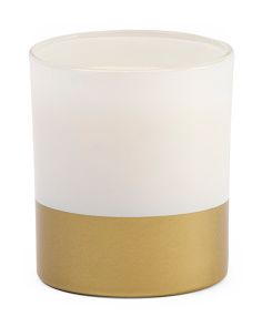 12oz Metallic Dipped Candle