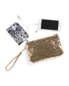 Charging Wristlet Pouch