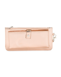 RFID New Metallic Wristlet