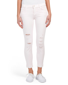 Low Rise Cropped Skinny Jeans