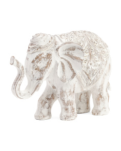 White Wash Elephant