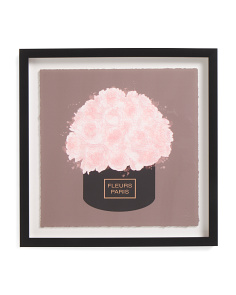 18x18 Luxe Florals Framed Print