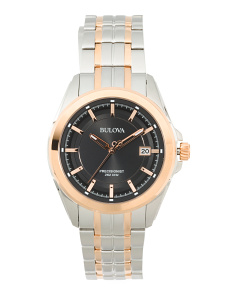 Men's Two Tone Precisionist Bracelet Watch