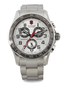 Men's Swiss Made Chronograph Classic Xls Bracelet Watch
