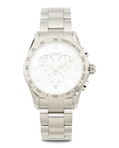 Men's Swiss Made Chronograph Classic Xls Watch
