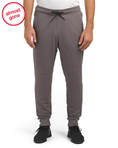 Heathered Joggers With Pockets