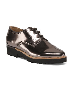 Laced Lug Sole Oxfords
