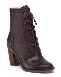 Grannie Leather Boots