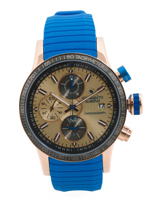 Men's Designed In Italy Chronograph Admiral Watch