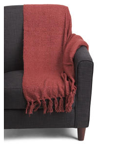 Knit Mohair Throw