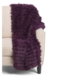 Effie Faux Fur Throw
