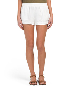 Beso Linen Shorts